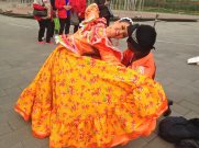 Mexican folklorico with Global Motions & BFFM, International Tourism Festival, Beijing, China