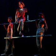 Prehispanic Contemporary dance, choreographed by Gustavo Gonzalez at the Eli & Edythe Broad Stage, Santa Monica, CA