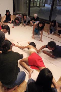 Embodied activation at Te Wā workshop in Honolulu